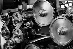 Cogs on a machine